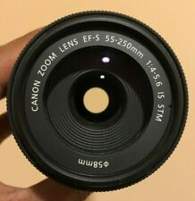 Used Canon EF-S 55-250mm f/4-5.6 IS STM Zoom Lens #490