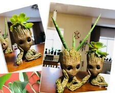 Flower Pot Baby Garden Flowerpot Planter Action  Tree Man Model Toy For Kids