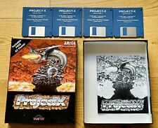 Project X - Amiga Game by Team 17 - Boxed, tested & working