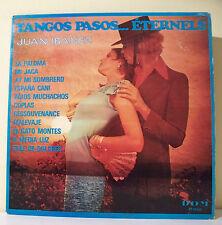 "2 x 33T Juan IBANEZ Disques Vinyles LP 12"" TANGOS PASOS ETERNELS - DOM 2606"