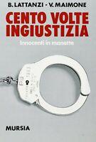 3397395 791976 Libri Benedetto Lattanzi / Valentino Maimone - Cento Volte Ingius