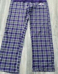 Baltimore Ravens Women's Plaid  Pajama medium New