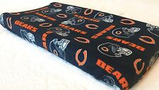 Chicago Bears Baby Changing Pad Cover for Nursery