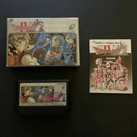 Dragon Quest IV - The Guided Ones (Boxed) - Nintendo Famicom NES Japan /w Manual