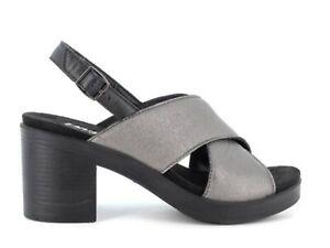 ENVAL SOFT 7285200 Sandalen Schuhe Absatz Leder Frau Laminat