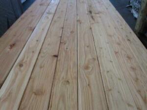 36 m² Douglasie 19 mm Riffeldielen 2.Wahl Dielen Terrassendielen Lärche 3 m Holz