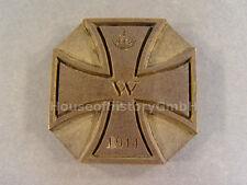 85164, Eisernes Kreuz 1914, Prägestock, Druckstock, Siegel, Messing