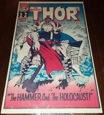 FOOM POSTER MIGHTY THOR 127 Jack Kirby Marvelmania uk Mail Order Only edit. 1970