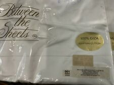 $1000 Between the Sheets Giza 600Tc Cotton Italy Nwt King Duvet Cover