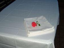 Markenlose Tischdecken ohne Muster