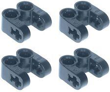 Missing Lego Brick 41678 Black x 4 Technic Axle Joiner Perpendicular Double Spli