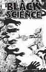 BLACK SCIENCE #32 B&W WALKING DEAD #5 TRIBUTE VARIANT COVER