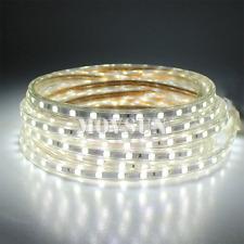 1M~20M 5050 60leds/M Warm/Cool White/RGB Waterproof LED Strip Rope Light AC220V