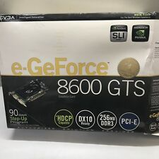 EVGA e-GeForce 8600 GTS 256MB PCI-e Video Graphics Card