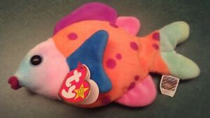 1999 Lips Beanie Baby - Retired.