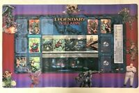 Marvel Legendary Villains Deck Building Game Oversized Playmat NEW