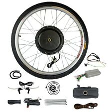 "26""Electric Bicycle Motor Conversion Kit Front Wheel E Bike Cycling Hub 48V1000W"