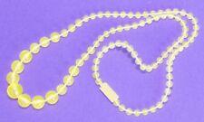 Pretty Pretty Princess Cinderella Game Replacement Part Yellow Necklace EUC