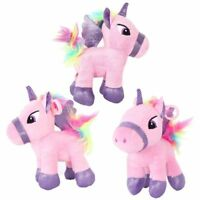 "5.9"" Unicorn Plush Toy Cushion Stuffed Doll Home Kids Birthday Gifts Usable"