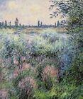 Claude Monet Seine Fine Art CANVAS Print Repro Poster Home Decor Small 8x10