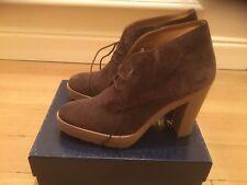 Ralph Lauren dark brown boots size 40b brand new