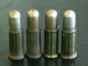 Four (4) Mattel Long-Nose Chamber Bullets