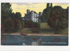 Schloss Berg Am Starnbergersee Vintage Postcard Germany 396a