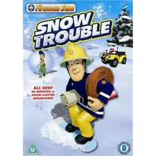 Fireman Sam Snow Trouble Region 2 New DVD