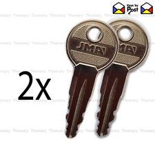 2x Audi, Skoda, VW, Seat, Roof Bar Keys or Roof Box Key Codes (N001 - N200)
