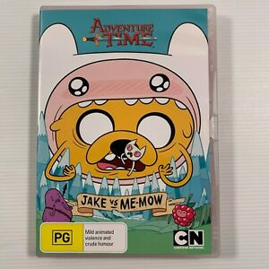 Adventure Time - Jake Vs Me-Mow : Collection 3 (DVD 2013) Region 4