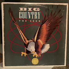 "BIG COUNTRY - The Seer - 12"" Vinyl Record LP - EX"
