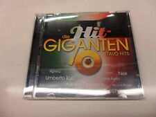 Cd   Various  ‎– Die Hit-Giganten Italo Hits