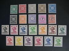 Dahomey Stamps French Colonies Taxe N° 9 à 18 *+ N° 19 à 28 + 29 à 31 ** à voir