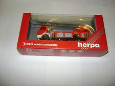 HERPA MERCEDES 042697 CAMION POMPIERS 1:87 / NEUF DANS EMBALLAGE D'ORIGINE