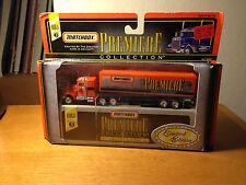 Matchbox Premiere toy car New in Box Peterbilt 40' Box Trailer Ltd. Ed. 1998