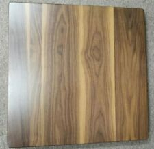 "NEW 24"" x 24"" Solid Walnut Wood Restaurant Dinning/coffee Table top in 1 3/4"""