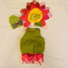 Baby Girl's 3-Pc. Pink Flower Halloween Costume Size 0-6 Months Childrens