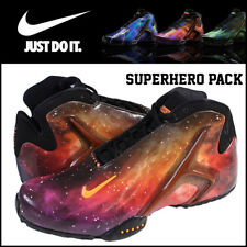 Nike Zoom Hyperflight PRM Lebron Superhero Pack 8 MultiColor GALAXY Foamposite