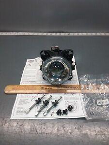 New HELLA 1BL008193-02 Headlight Asm w/Adjusters, Low Beam 90mm, 12V H9. Bus, RV