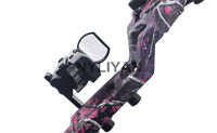 Holographic Reflex Red/Green Dot Sight+ 18-20mm Sight Mount Bracket For Hunting