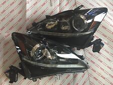 *NEW SET 2012 LEXUS IS350 IS250 COMPLETE UPGRADE ISF HID XENON LED HEADLIGHT OEM