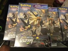 Pokémon Sun And Moon Ultra Prism Hanger Box 3 Pack Volume Discount Rare Boosters