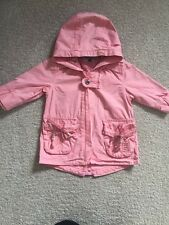 IKKS bébé fille âge 6 mois manteau en rose