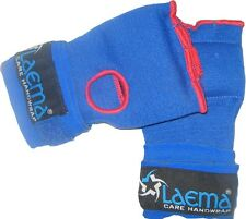 BLUE BOXING GLOVE QUICK HAND WRAPS- MMA UFC GYM BAG WORK - REDUCED TO CLEAR