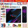 4GB+64GB 32GB H96 MAX Android 10.0 Quad Core TV Box 4K HD Media Player WIFI UK