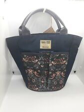 Briers Tool Bag Exclusive William Morris Gallery Strawberry Thief Print Navy NWT