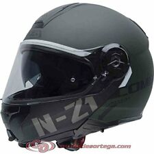 Nzi cascos modulares Flydeck Green talla S