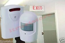 Security Exit Door Alarm Chime Bell Alert Safety Proof Motion Sensor