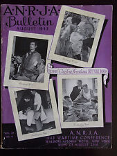 '43 American National Retail Jewelry Assoc Wartime Conference Waldorf-Astoria NY