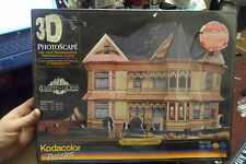 Kodacolor 3D The Gingerbread Mansion, 400+ Piece Puzzle Sealed